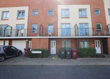 Thumbnail 4 bedroom terraced house to rent in Curzon Street, Reading