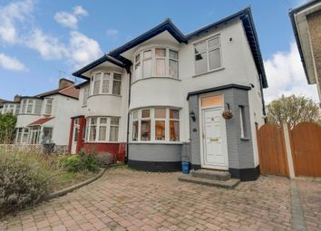 Thumbnail 5 bed semi-detached house for sale in Close To The Park, Rutland Avenue, Southend-On-Sea