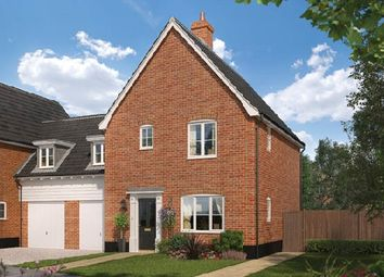 Thumbnail 3 bedroom link-detached house for sale in The Hapton, Oakley Park, Mulbarton, Norfolk
