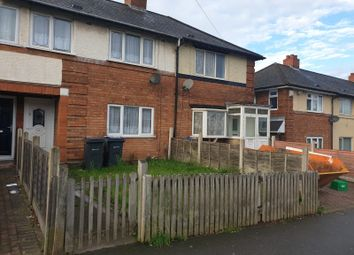 Thumbnail 3 bed terraced house to rent in Knights Road, Birmingham