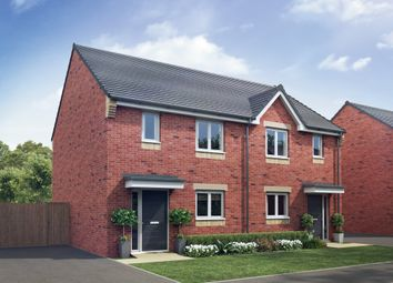 "Thumbnail 3 bedroom semi-detached house for sale in ""The Avon"" at Crossley Street, Gorton, Manchester"