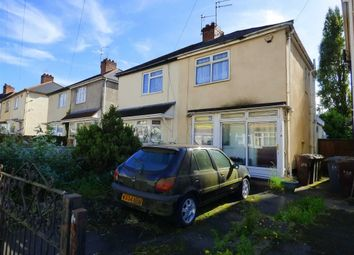 Thumbnail 2 bed semi-detached house for sale in Powell Street, Heath Town, Wolverhampton