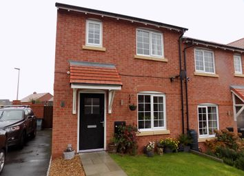 Thumbnail 3 bed semi-detached house for sale in Rendle Close, Winnington, Northwich