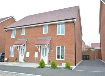 Thumbnail 3 bed semi-detached house to rent in Strapp Road, Picket Piece, Andover