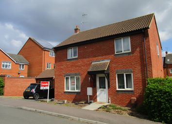 Thumbnail 3 bedroom detached house for sale in Belvoir Close, Corby