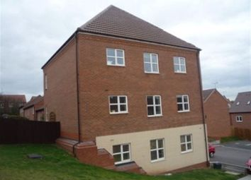 Thumbnail 2 bedroom flat to rent in Bates Close, Loughborough