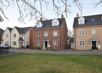 Thumbnail 5 bed detached house for sale in Chamberlain Way, Shortstown, Bedford