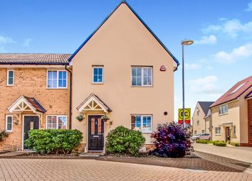 Thumbnail 3 bed end terrace house for sale in Claremont Crescent, Rayleigh, Essex