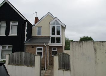 Thumbnail 1 bed detached house to rent in Cardigan Street, Canton, Cardiff