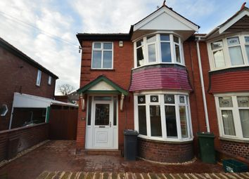 Thumbnail 3 bed semi-detached house to rent in Harewood Road, Doncaster