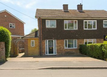 Thumbnail 3 bed semi-detached house for sale in Wolversdene Road, Andover