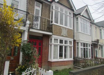 Thumbnail 2 bed terraced house to rent in Edna Road, London, Raynes Park