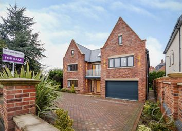 Thumbnail 6 bed detached house for sale in High Oakham Hill, Mansfield