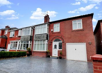 Thumbnail 4 bed semi-detached house for sale in Chadderton Park Road, Chadderton, Oldham