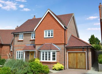 Thumbnail 4 bed detached house for sale in Cobbett's View, Burghclere, Newbury