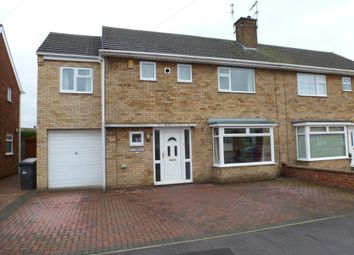 Thumbnail 4 bed semi-detached house to rent in Matlock Drive, North Hykeham, Lincoln