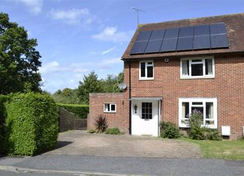 Thumbnail 3 bed semi-detached house for sale in Roebuts Close, Newbury, Berkshire