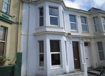 Thumbnail 4 bedroom terraced house to rent in Grafton Road, Mutley, Plymouth