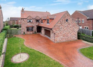 Thumbnail 5 bed detached house for sale in Jaig House, Mill Lane, Hemingbrough, Selby