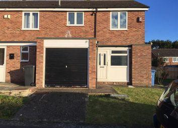 Thumbnail 3 bedroom property to rent in Pecockes Close, Great Cornard, Sudbury
