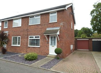 Thumbnail 3 bed semi-detached house for sale in Kingswood Avenue, Carlton Colville, Lowestoft