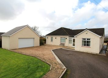 Thumbnail 3 bed detached bungalow for sale in Tram Lane, Llanfrechfa, Cwmbran