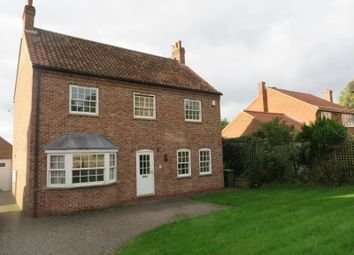 Thumbnail 4 bed detached house to rent in Main Street, Horkstow