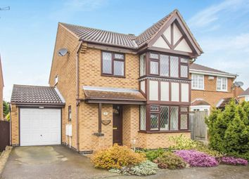 Thumbnail 3 bed detached house for sale in Mawby Close, Whetstone, Leicester