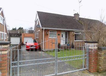 Thumbnail 3 bed semi-detached bungalow for sale in St. Nicholas Road, Bridgend