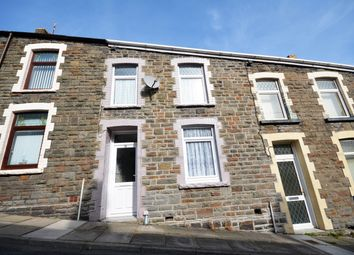 Thumbnail 3 bed terraced house for sale in Evan Street, Treharris