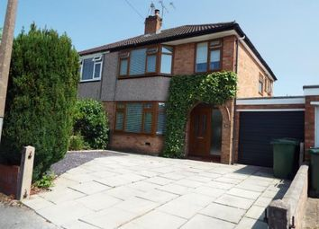 Thumbnail 3 bed semi-detached house for sale in Redcar Drive, Eastham, Wirral