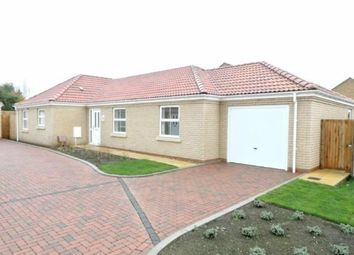 Thumbnail 3 bed bungalow for sale in Rosewood Close, Whittlesey, Peterborough, Cambridgeshire