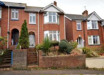 Thumbnail 3 bed end terrace house for sale in Marpool Hill, Exmouth, Devon