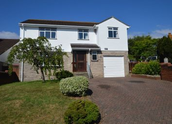 Thumbnail 4 bed detached house for sale in Ebdon Road, Wick St Lawrence, Weston-Super-Mare