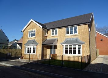 Thumbnail 5 bed detached house for sale in Nant Seren, Church Village, Pontypridd