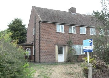 Thumbnail 3 bed semi-detached house for sale in Maino Crescent, Lutterworth
