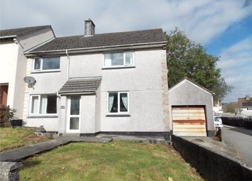 Thumbnail 3 bed end terrace house for sale in Tregonnisey Close, St. Austell, Cornwall