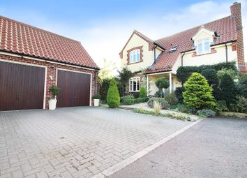 Thumbnail 4 bed detached house for sale in Back Lane, Martham, Great Yarmouth