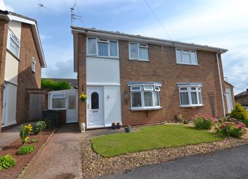 Thumbnail 2 bed semi-detached house for sale in Gough Close, Holmcroft, Stafford