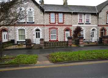 Thumbnail 2 bed terraced house for sale in The Avenue, Newton Abbot, Devon.