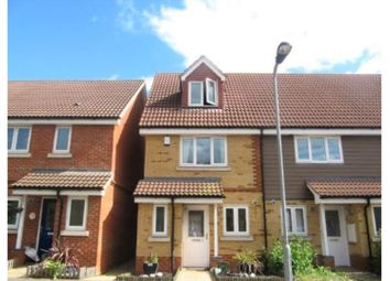 Thumbnail 3 bed end terrace house for sale in Buttercup Close, Northolt