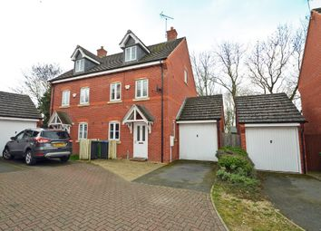 Thumbnail 3 bed town house for sale in Woodleigh Road, Long Lawford, Rugby