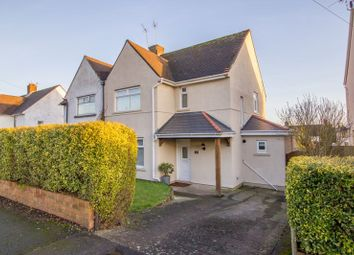 Thumbnail 3 bed semi-detached house for sale in Elfed Avenue, Penarth