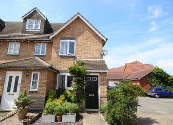 Thumbnail 2 bed end terrace house for sale in Darter Close, Ipswich