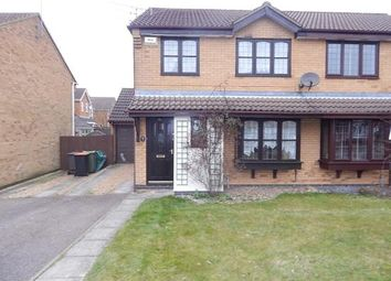 Thumbnail 3 bedroom semi-detached house to rent in Troons Garden, Luton
