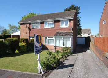 Thumbnail 3 bed semi-detached house for sale in Whittan Close, Rhoose, Barry