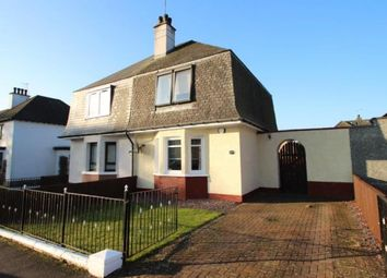 Thumbnail 2 bedroom semi-detached house for sale in Damshot Road, Glasgow, Lanarkshire