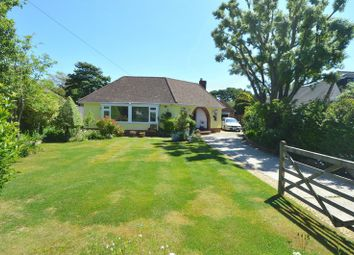 Thumbnail 3 bed detached bungalow for sale in Solent Road, Hill Head, Fareham