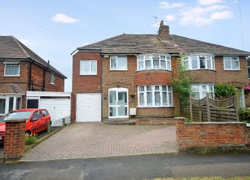 Thumbnail 5 bed semi-detached house for sale in Carlton Drive, Wigston, Leicester