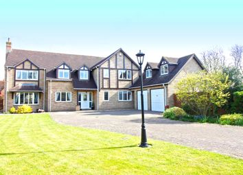 Thumbnail 5 bed detached house for sale in The Sanderlings, Peakirk, Peterborough
